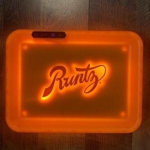 New Glow Tray x Runtz (Orange) (Limited Edition)
